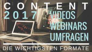 Marketing Strategie mit Video