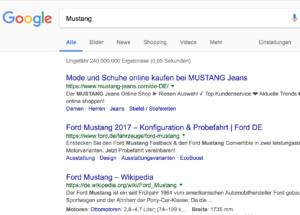 google suche tipps bindestrich